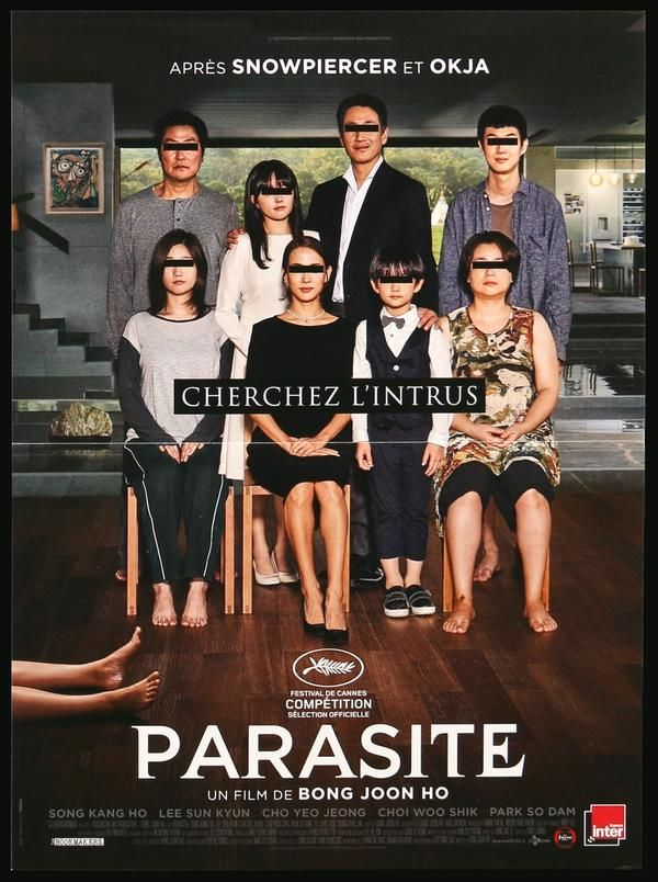 Parasite (9) in 9  Song kang ho, Classic movie posters