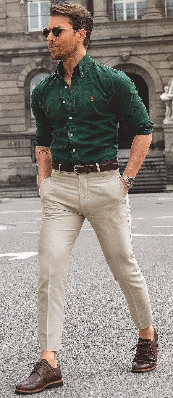 The dress shirt fit! - Fitness Shirts - Ideas of Fitness Shirts #fitnessshirts #shirts #fitness -...