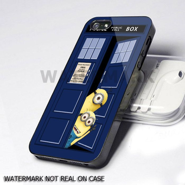 Despicable Minions Dr Who Tardis iphone 5 case