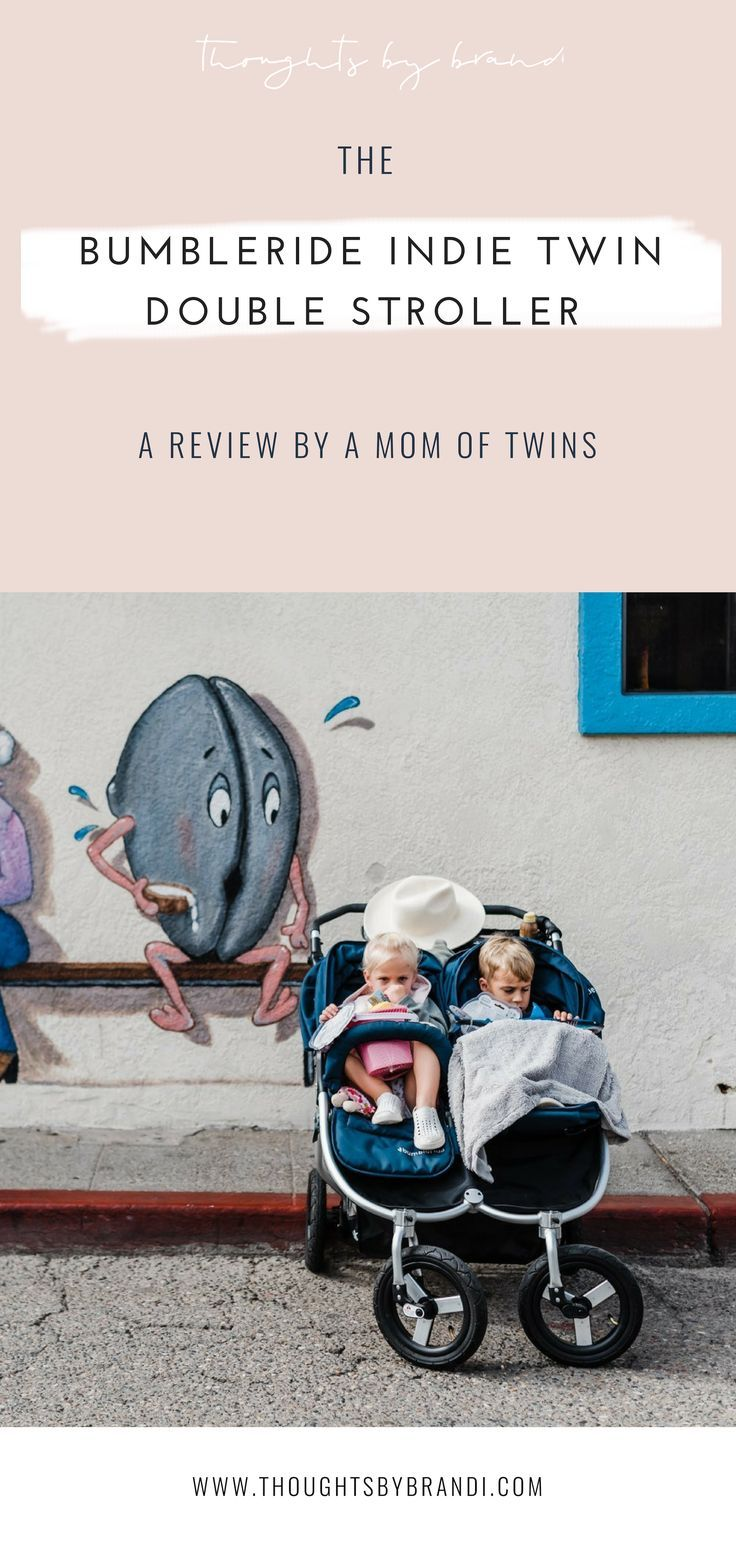 A BUMBLERIDE INDIE TWIN DOUBLE STROLLER REVIEW BY A TWIN