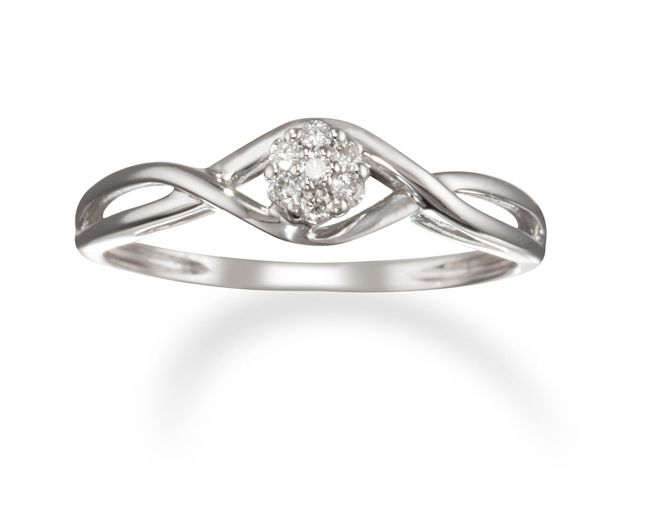 White Gold Diamond 14k White Gold Diamond Ring Jewelry Pinterest