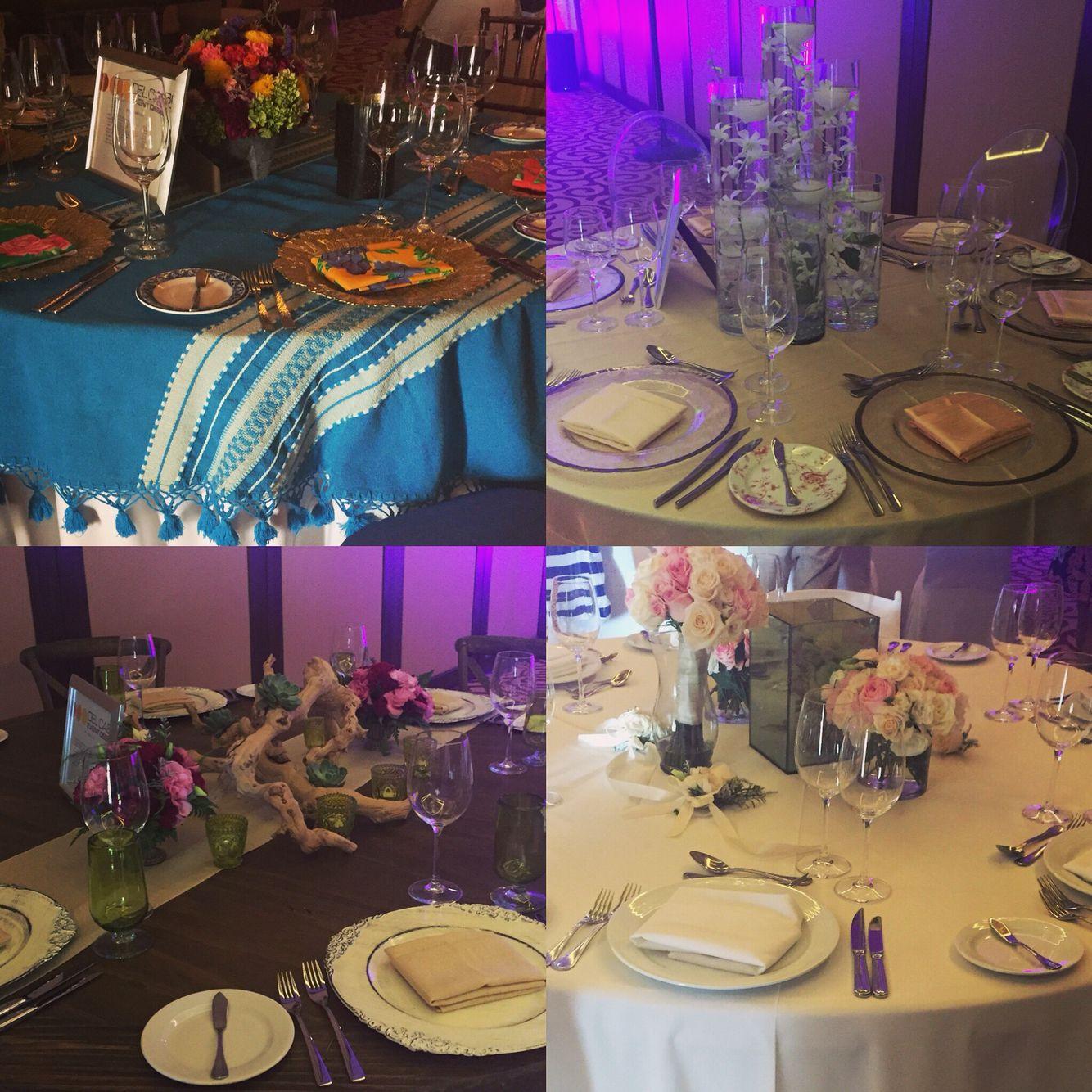Stylish Wedding Ceremony Decor: An Example Of Decor Options For A Destination Wedding