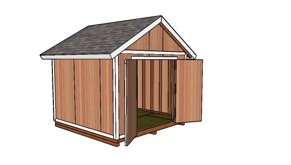 10x10 Shed Plans Diy Step By Step Howtospecialist How To Build Step By Step Diy Plans 10x10 Shed Plans Small Shed Plans Shed Design