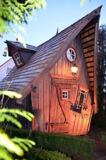 Casa kaiensis garten gew chs und spielh user pinterest gartenh user hexenhaus und baumhaus - Hexen gartenhaus ...