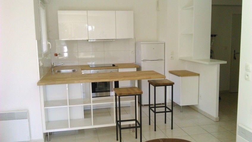 Séparation de cuisine avec KALLAX Ikea hack, Small spaces and - küchen von ikea