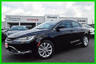 awesome 2015 Chrysler 200 Series C Certified - For Sale View more at http://shipperscentral.com/wp/product/2015-chrysler-200-series-c-certified-for-sale/