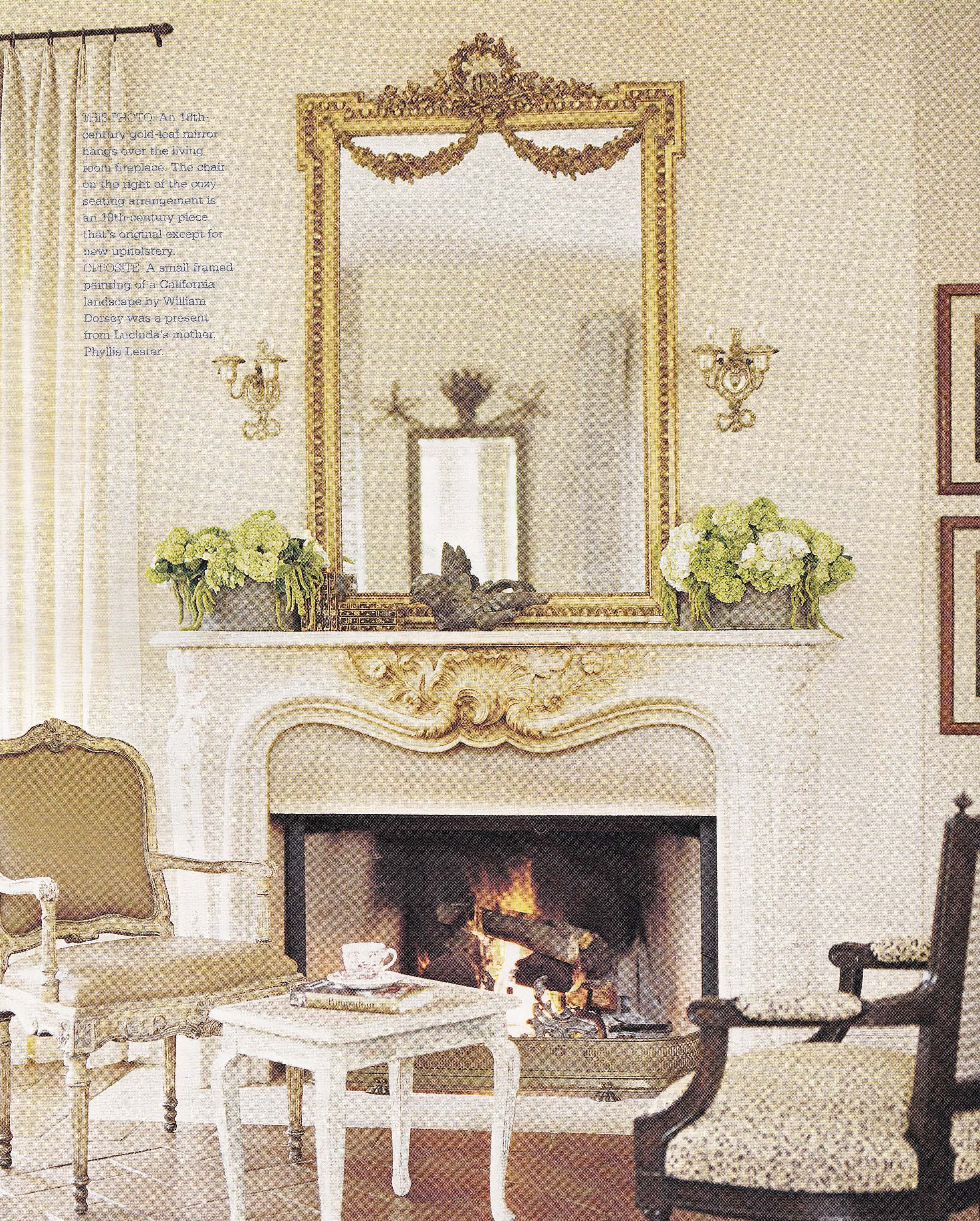 Interior Designer Lucinda Lester Better Homes And Gardens Country French Decorating Spring