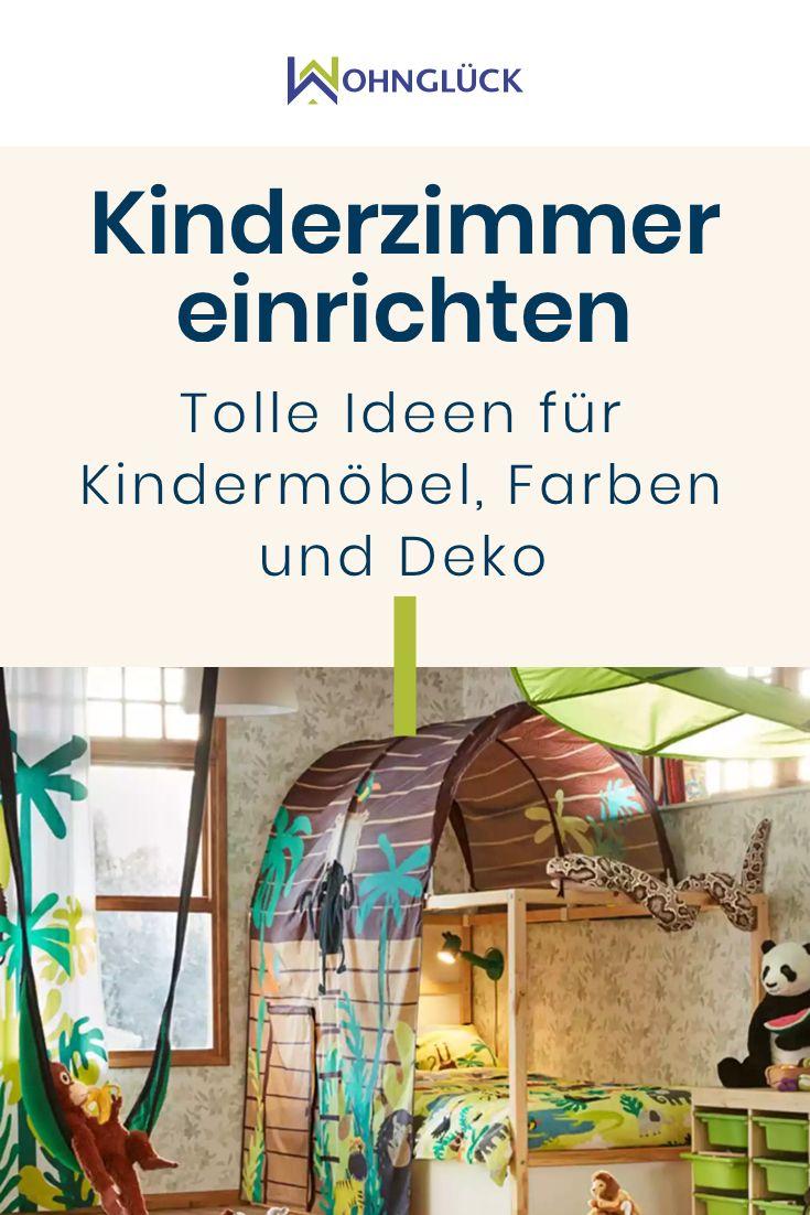 Kinderzimmer einrichten Kreative Ideen und wertvolle