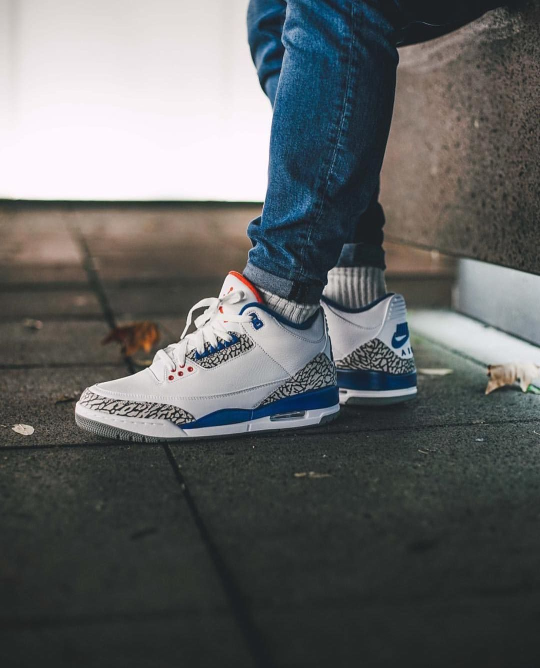 super popular 4382f 9bf6b Air Jordan 3 Retro OG  True Blue  (via Kicks-daily.com)