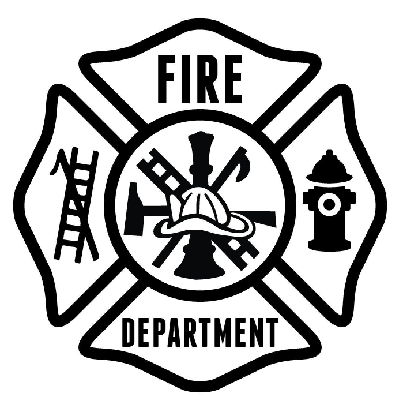 FD Maltese Sticker Generic Fire dept, Maltese, Fire