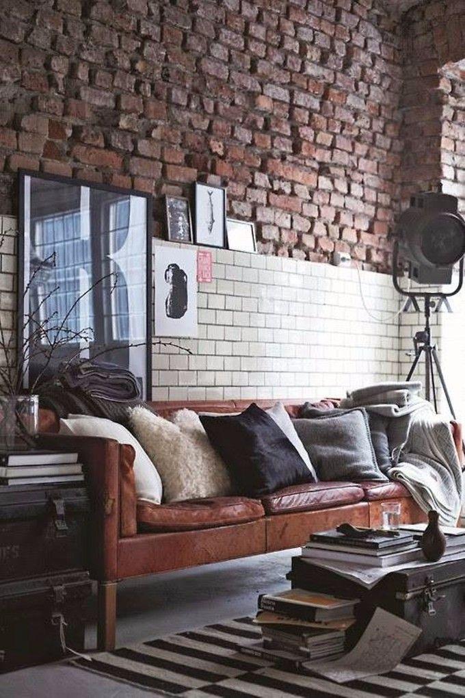 So bekommen Sie den Vintage Industrial Style in Ihren Wohnzimmer - wohnzimmer industrial style