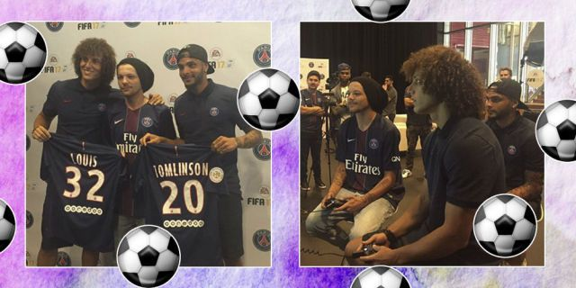 We could probably watch One Direction's Louis Tomlinson playing FIFA all day  - Sugarscape.com