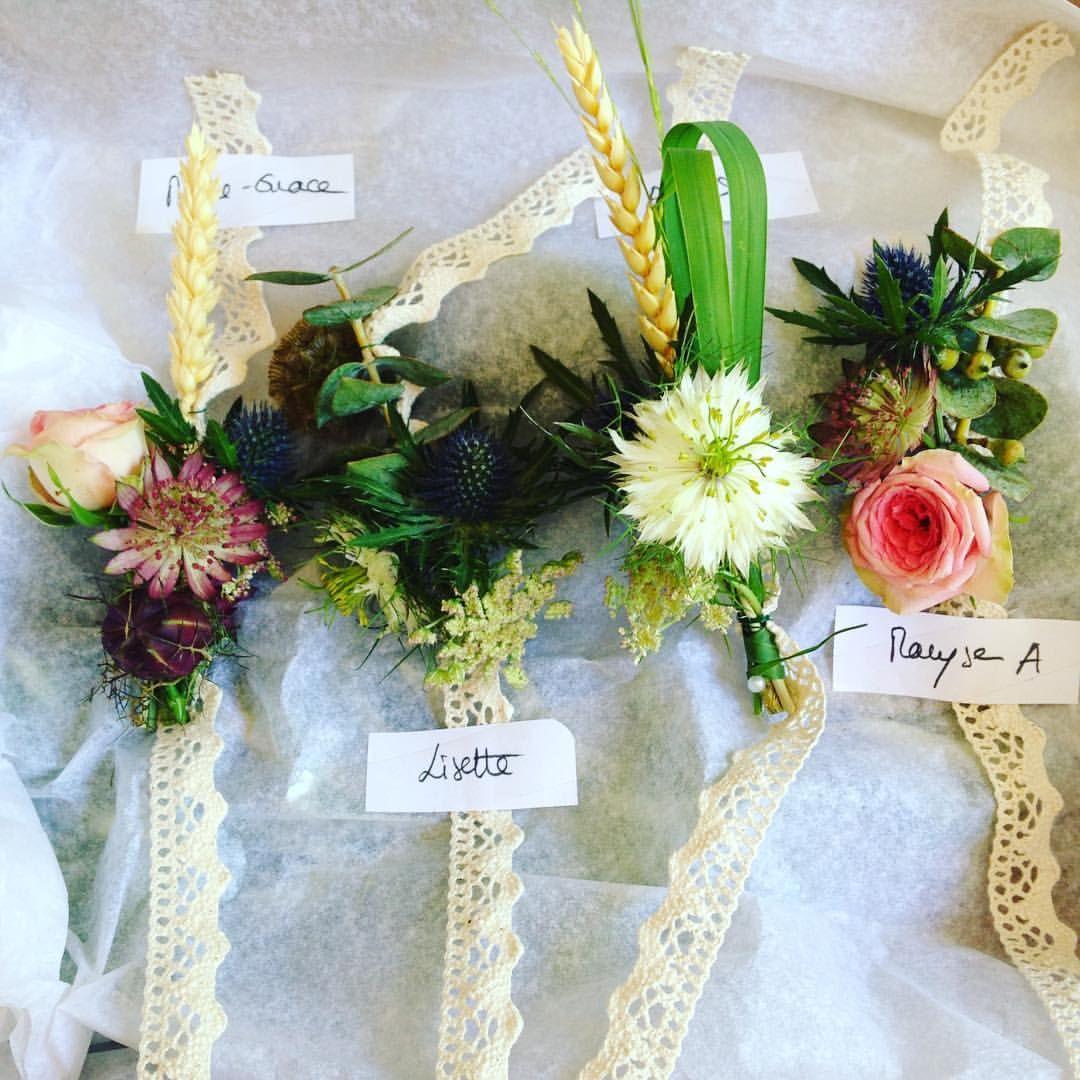 Wedding decorations ghana  bracelets témoins réalisés par Bucolique By Marina provencewedding