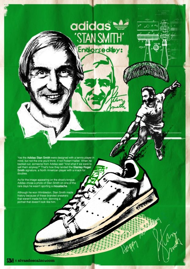 Old Stan Smith poster | Adidas stan