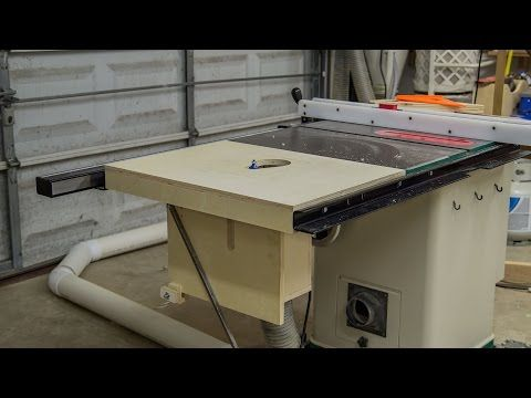 Building A Table Saw Extension Wing For A Router Lift 188