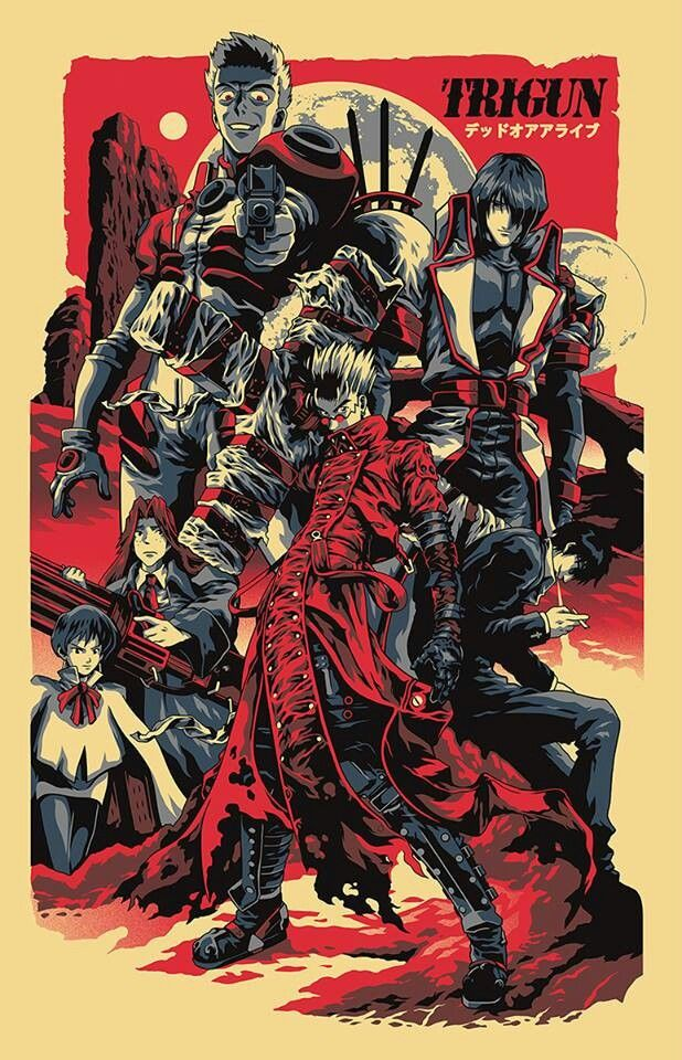 Trigun Trigun, Awesome anime, Anime shows