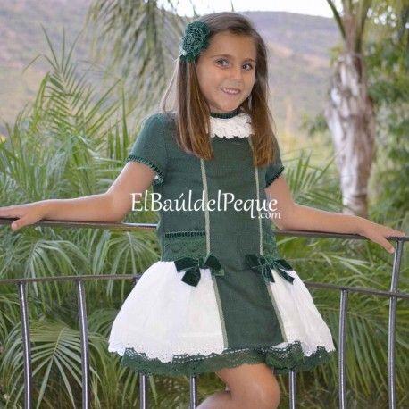 Vestido de Lolittos Moda Infantil en El Baúl del Peque  www.elbauldelpeque.com
