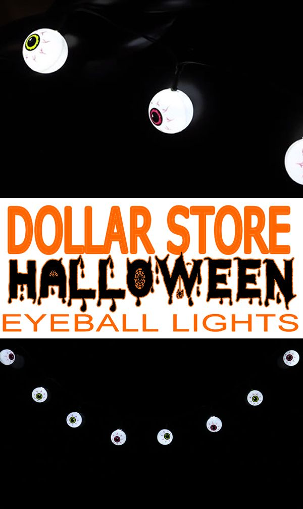 Dollar Store Halloween Decorations! Easy DIY craft project for - fun homemade halloween decorations