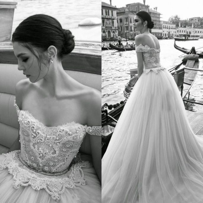 Simple Inbal Dror the leading designer of Bridal Gowns and evening dresses in Israel is a