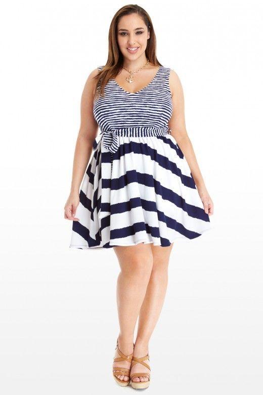 10 FREE Plus Size Summer Dress Patterns | Free Patterns | Pinterest ...