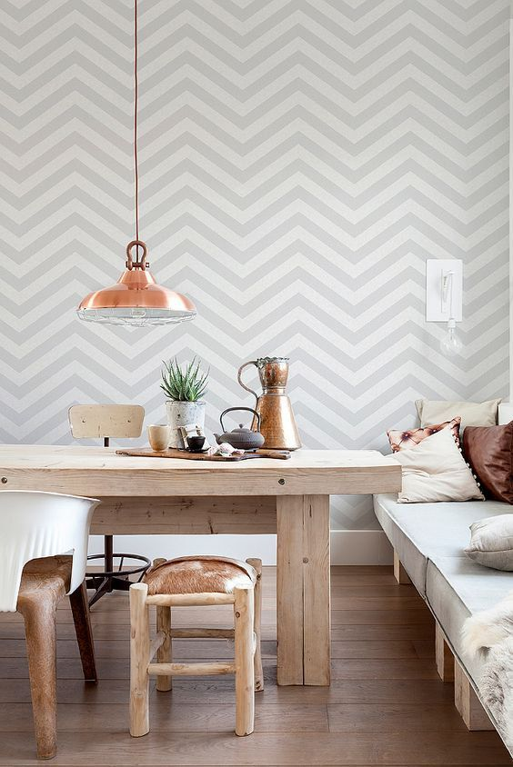 Self-Adhesive Vinyl Tapete abnehmbare von BestWallpapers auf Etsy - graue tapete wohnzimmer