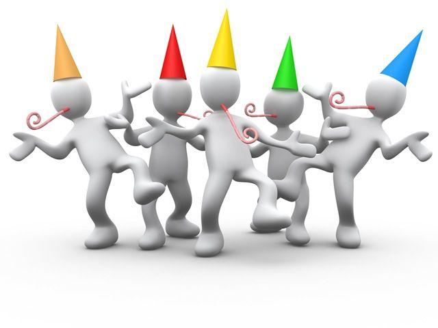 Team Celebration Clipart #1 | Party time, Orange leader ...