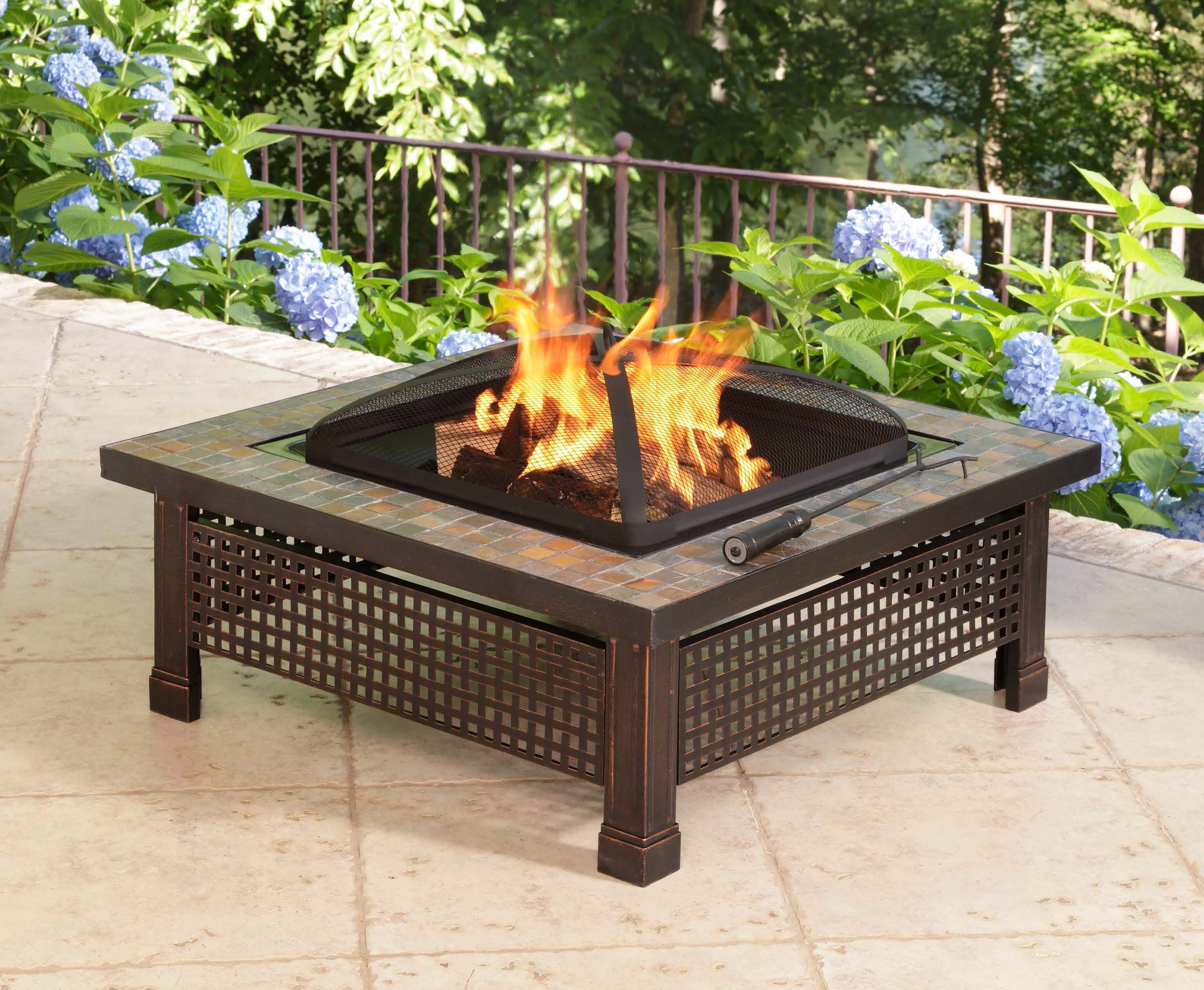 enjoy the hearth with a bradford slate fire pit you can find all of