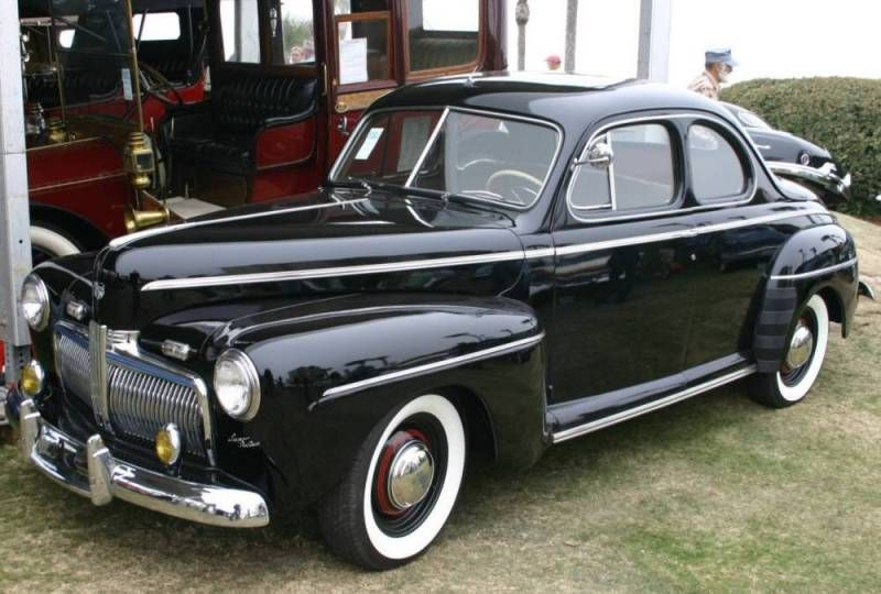 1942 Ford Super Deluxe Coupe Ford