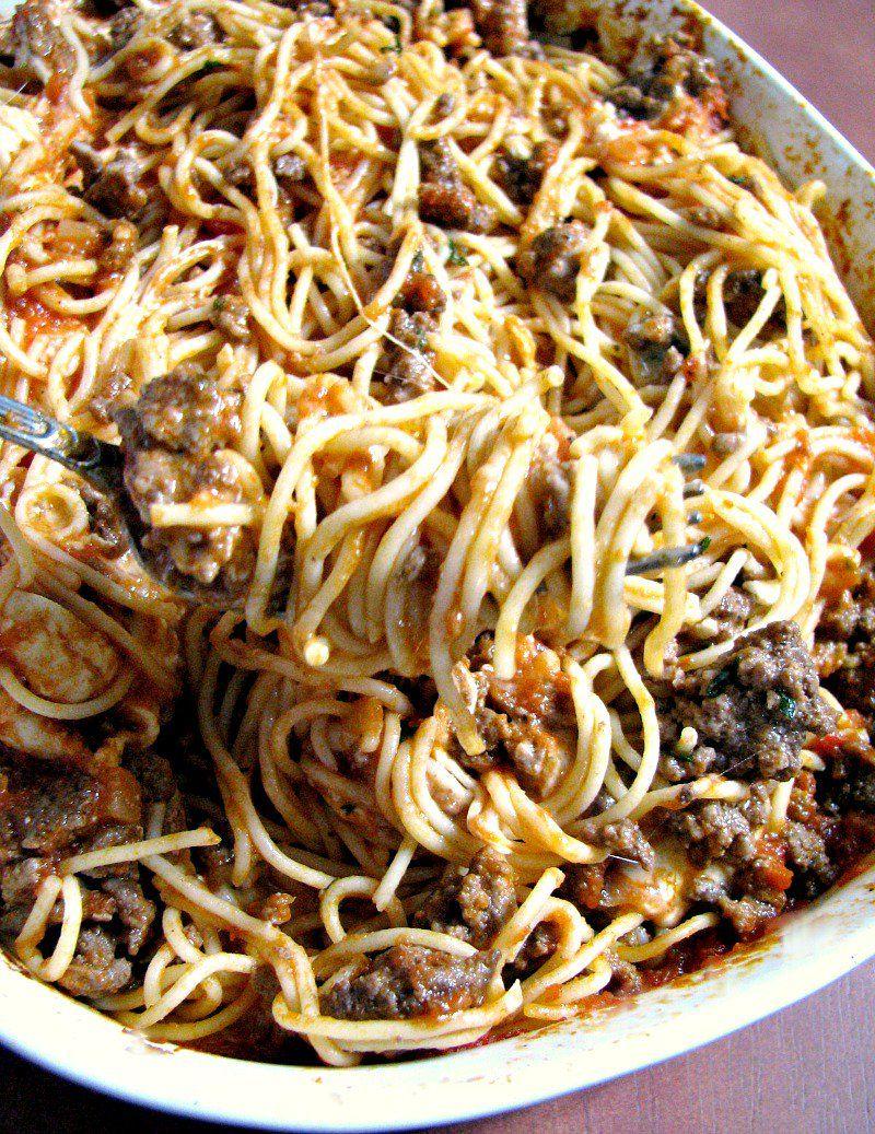 Leftover Spaghetti Casserole Recipe Leftover Spaghetti Spaghetti Casserole Leftover Spaghetti Recipe