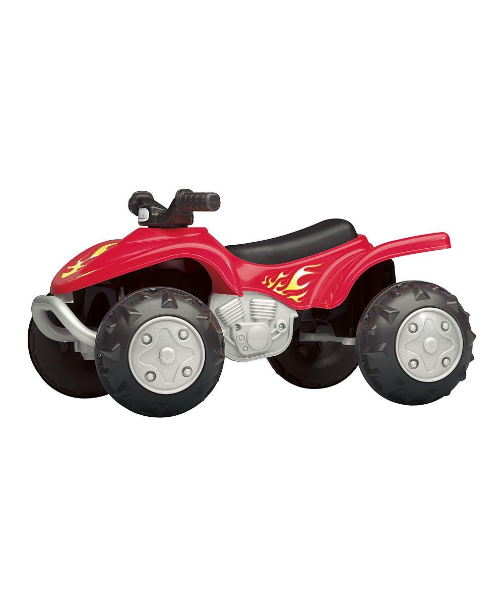 Red Quad Rider Ride-On