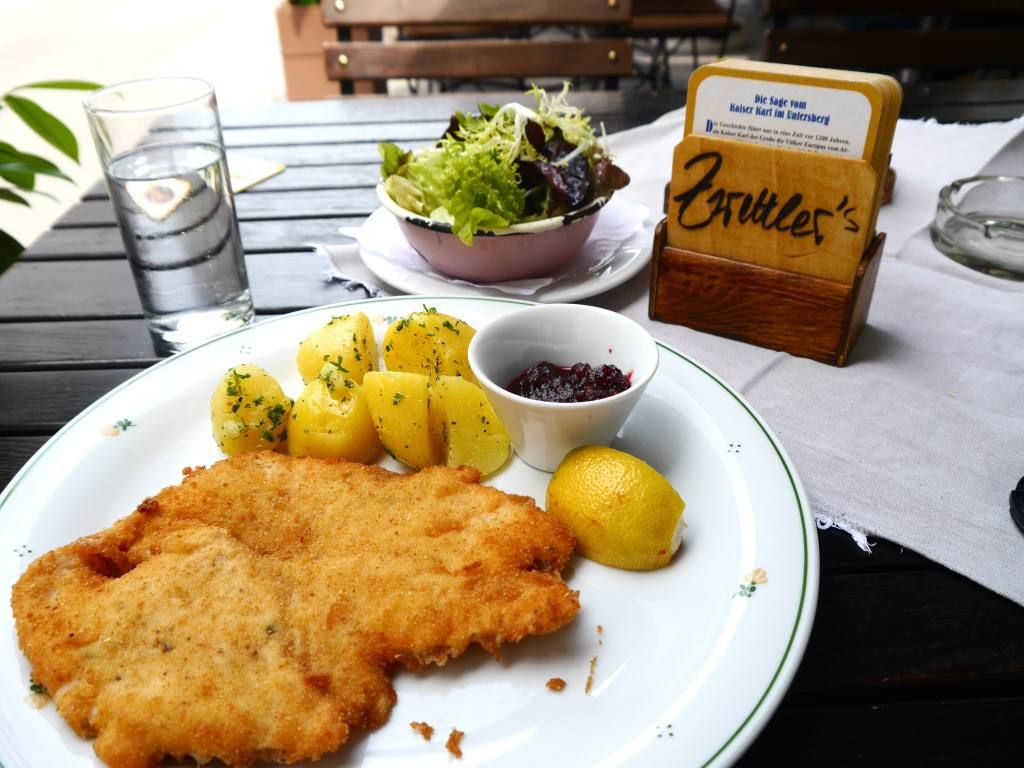 Chicken Schnitzel In Salzburg 7 Day Austrian Travel Itinerary