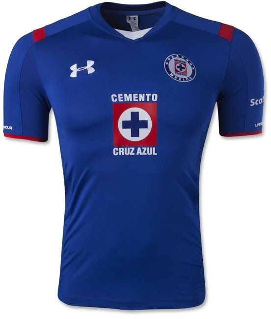 89ccbc673f9 Cruz Azul 14-15 Home | LIGA MX..FOOT BALL SOCCER TEAMS | Football ...