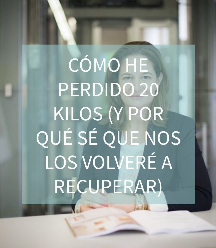 Blog http://anamayo.es/como-he-perdido-20-kilos/