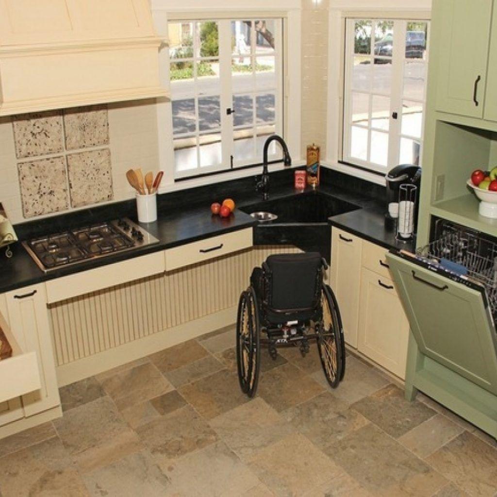 Kitchen Cabinet Design For Elderly