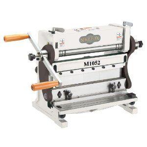 Shop Fox M1052 3 In 1 Sheet Metal Machine 12 Inch 315 Metal Working Tools Sheet Metal Tools Sheet Metal