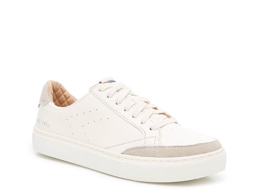 dsw white platform sneakers