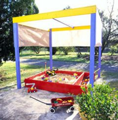 Shaded sandpit better homes and gardens yahoo 7 diy Yahoo better homes and gardens