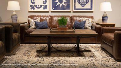 Soft Line Pista Leather Sofa Leather Sofa Magnolia Homes Sofa