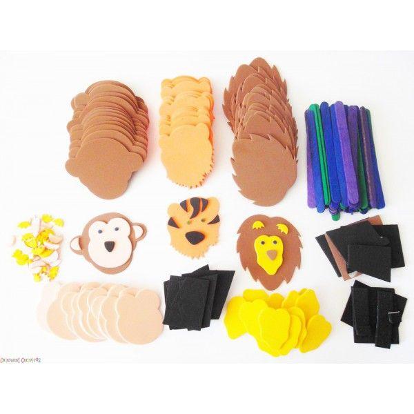 Titeres de animales de fomi moldes - Imagui | Ideas para una ...