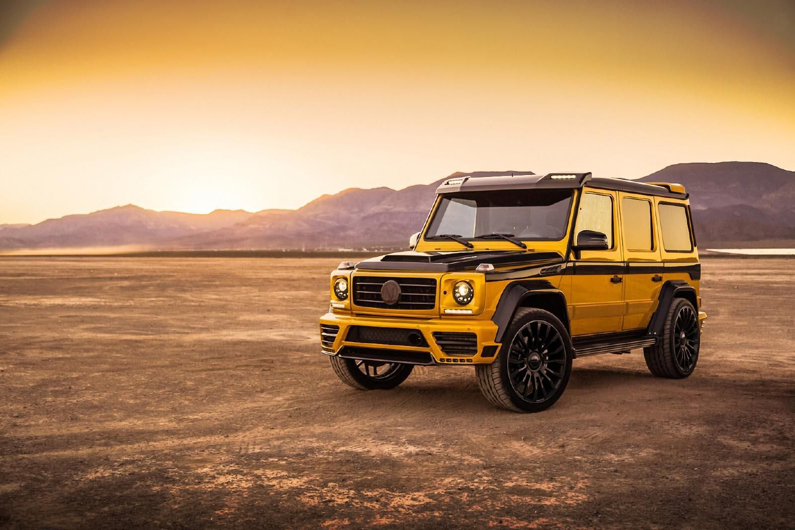 Mansory Offers Wide-Body Kit for Mercedes-Benz G-Class Gallery via MOTOR TREND News iPhone App