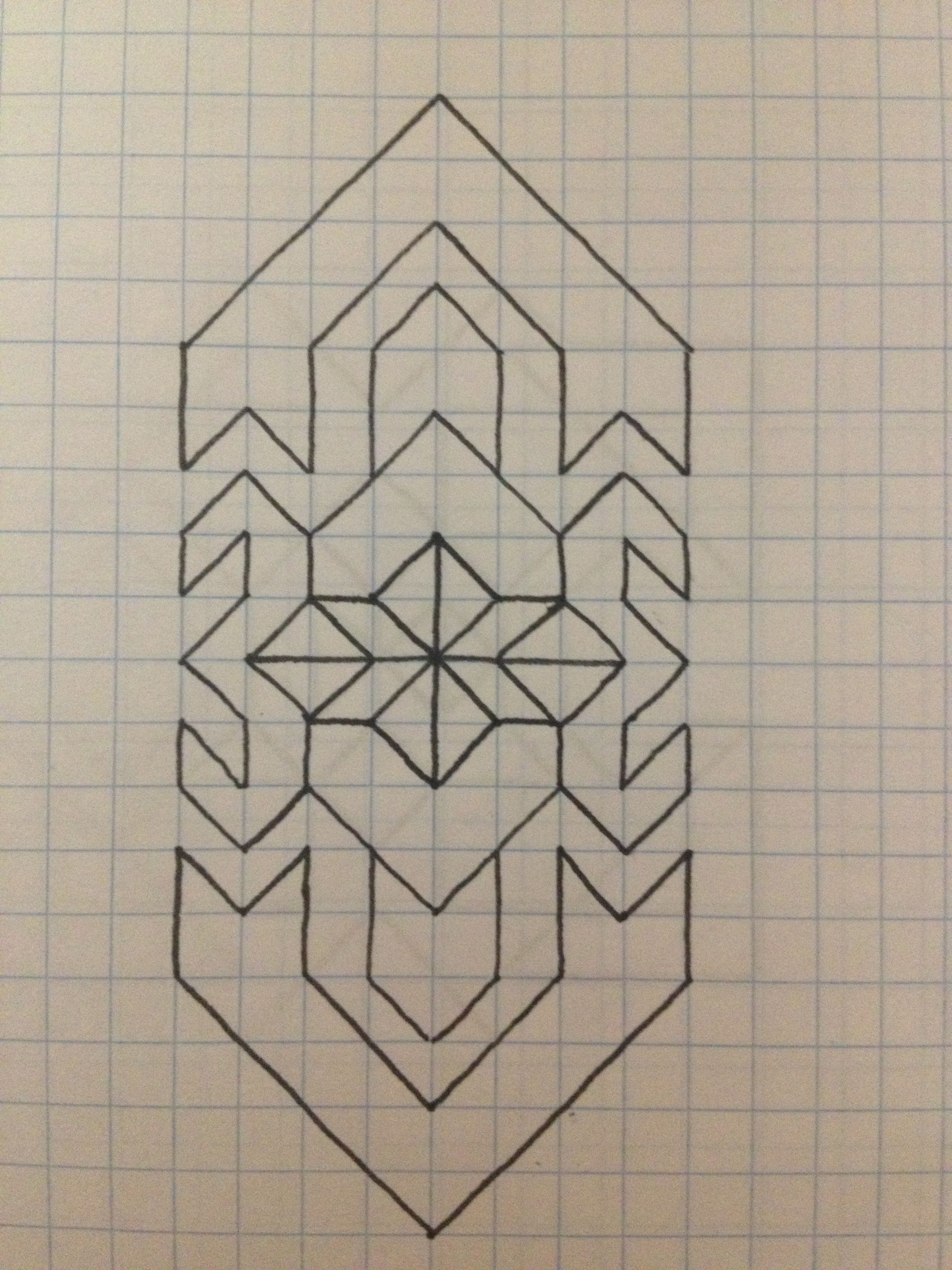 A Design I Made Graph Paper Art Graph Paper Designs Graph