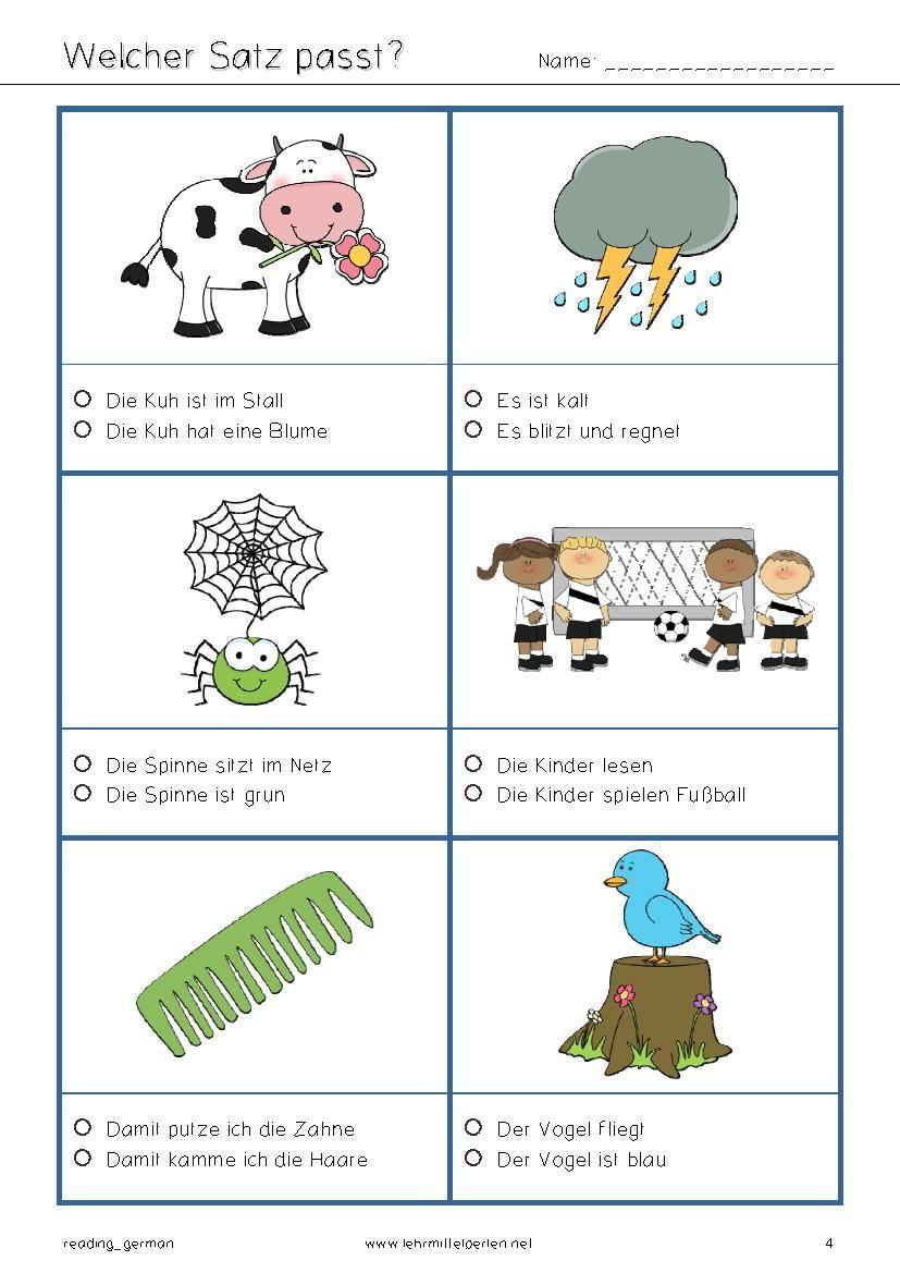 Fun German Reading Jezyk Niemiecki Edukacja I Niemiecki