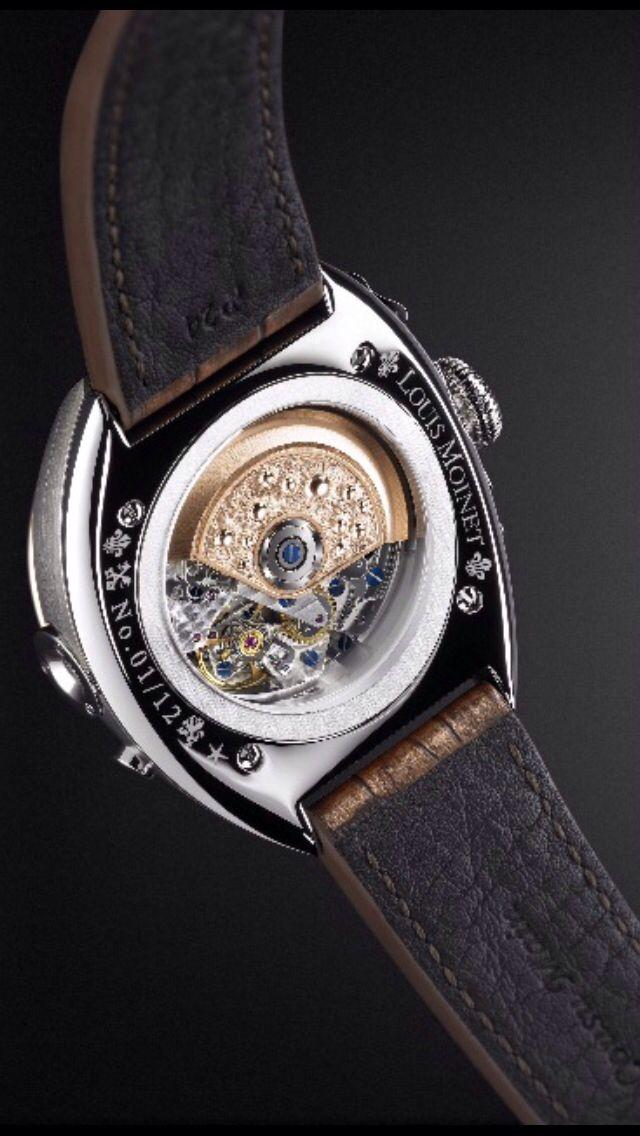 Watches of Distinction: Louis Moinet Wrist Watch | Geschlagen