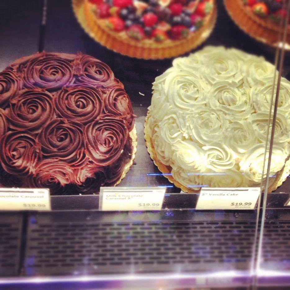 Whole Foods Rosette Cake