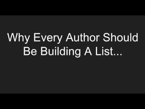 4 Ways Authors Can Build An Email List