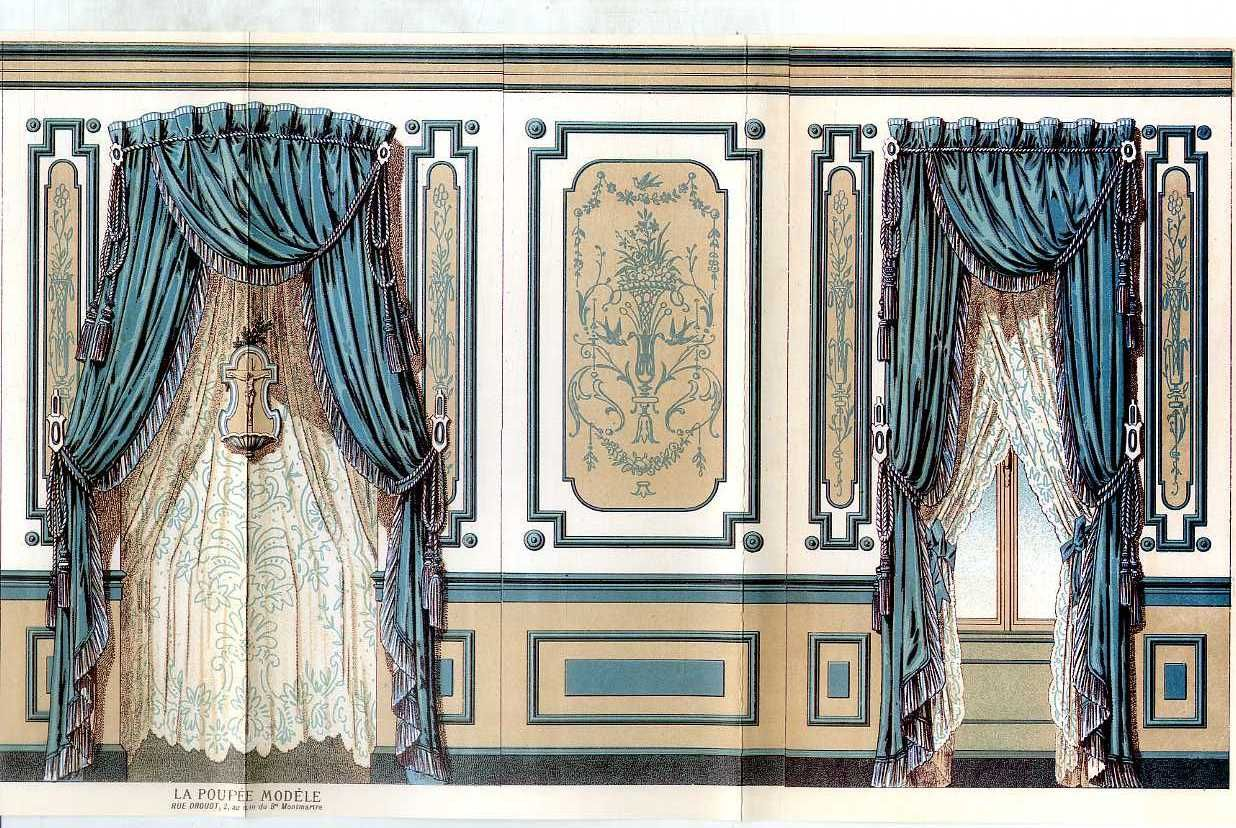 'Mademoiselle Mignonnette' Poupée de poche. Patterns & outcut from 'la poupée modèle'