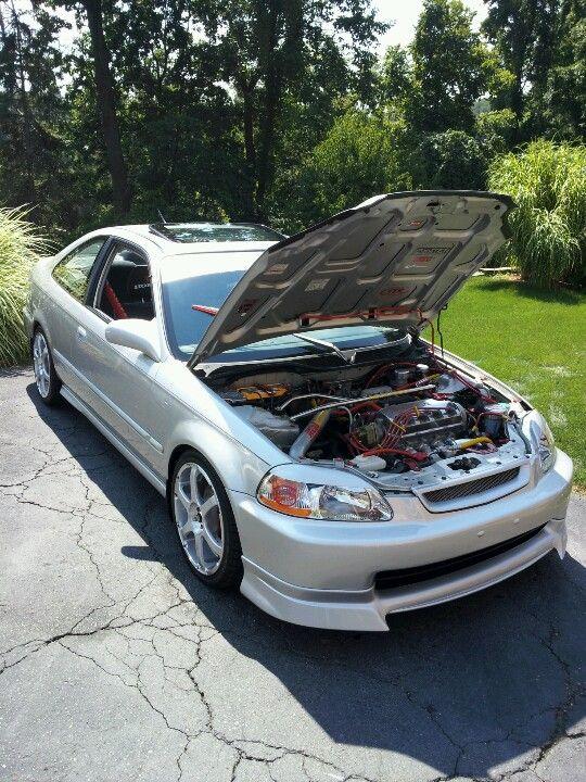 98 Honda Civic EX Custom.