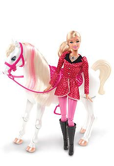 555be75ce99b01 Mattel® Barbie Feature Horse  Belk  Kids  Toys