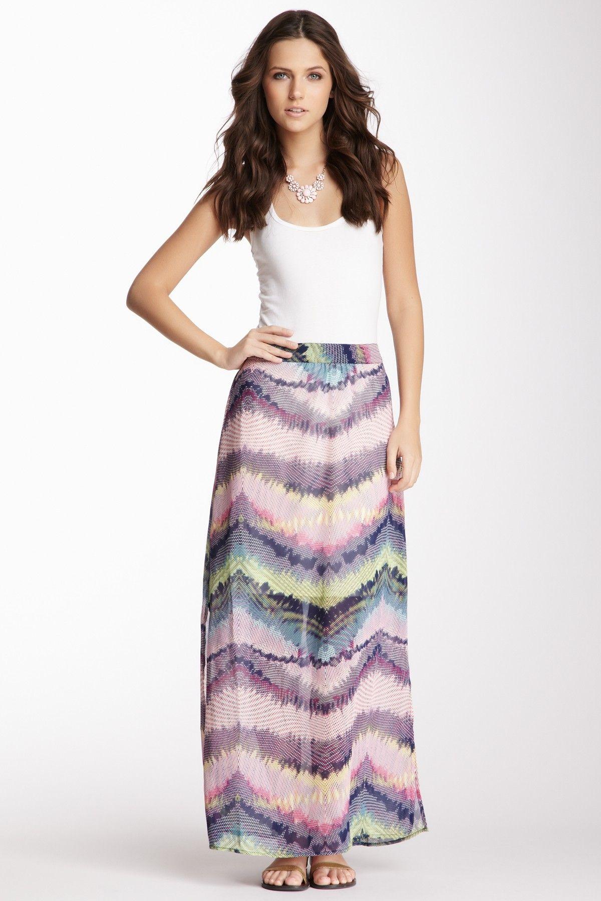 Printed maxi skirt uc fashion pinterest maxi skirts skirts