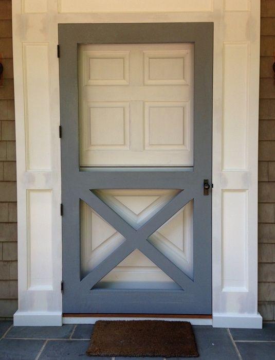 Image Result For Old Fashioned Screen Door With Plexiglass Insert Metal Screen Doors Diy Screen Door Front Door With Screen